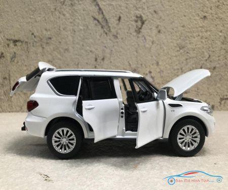 Mô hình xe ô tô NISSAN Patrol tỷ lệ 1:32