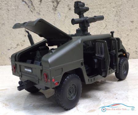 Mô hình xe quân sự Xe HUMVEE  tỷ lệ 1:32