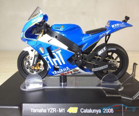 Mô hình đồ chơi xe Moto Yamaha YZR M1 Catalunya  2008